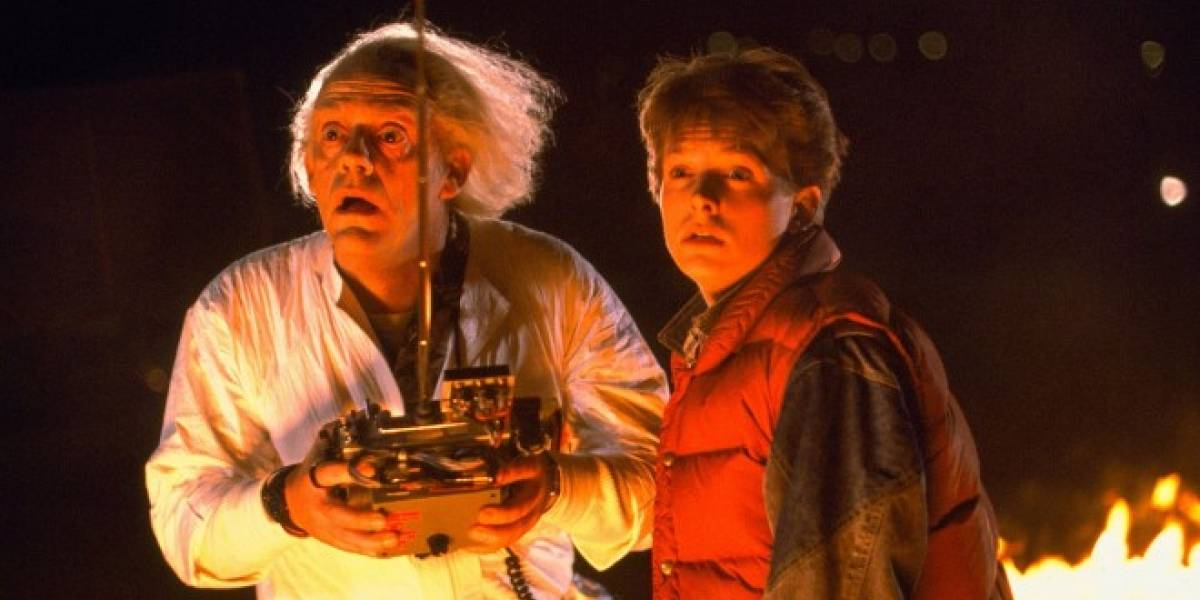 Mira la trilogía de Back to the Future resumida en minuto y medio