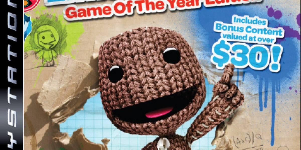 Sony de fiesta con la LittleBigPlanet Game of The Year