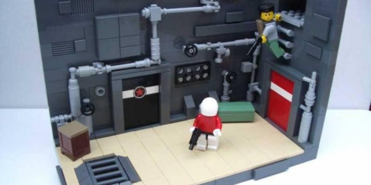 Shadow Complex al estilo Lego