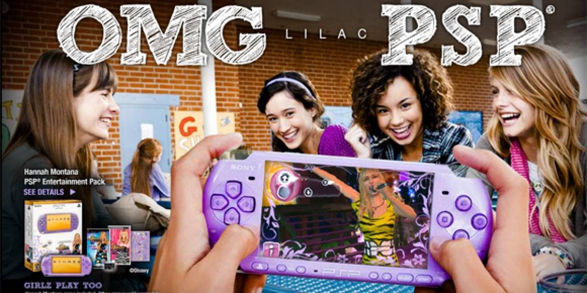 Chicas Gamers, PSP Lilac para ustedes