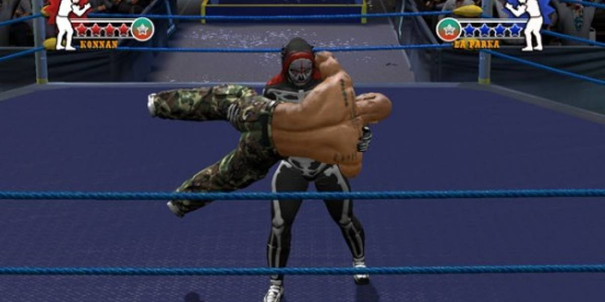 Konami comercializará Lucha Libre AAA: Héroes del Ring fuera de México