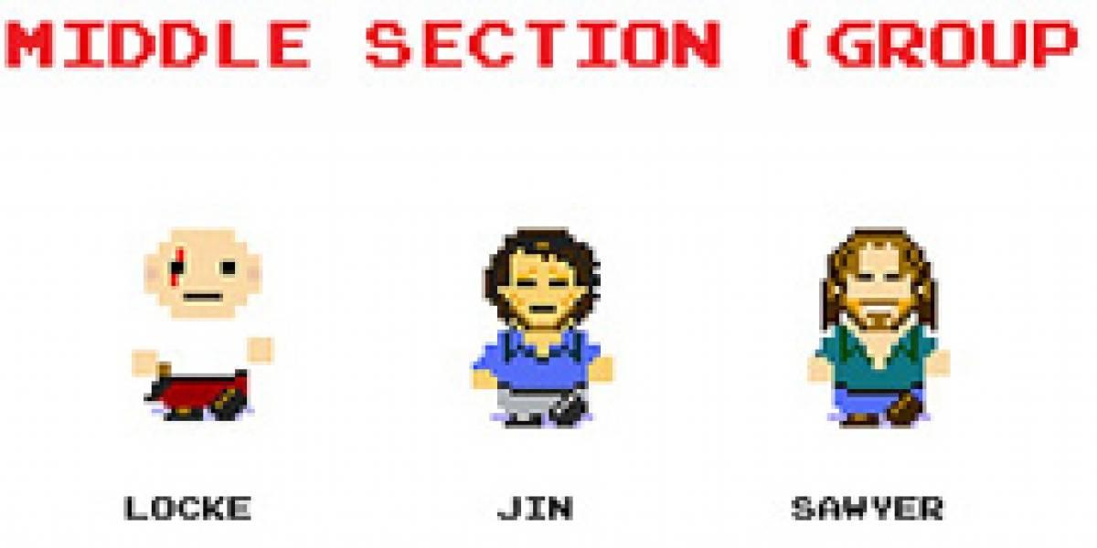 Si LOST tuviese su videojuego de NES