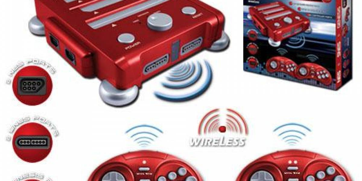 RetroN 3: Nintendo, Super Nintendo y Sega Genesis en una sola máquina