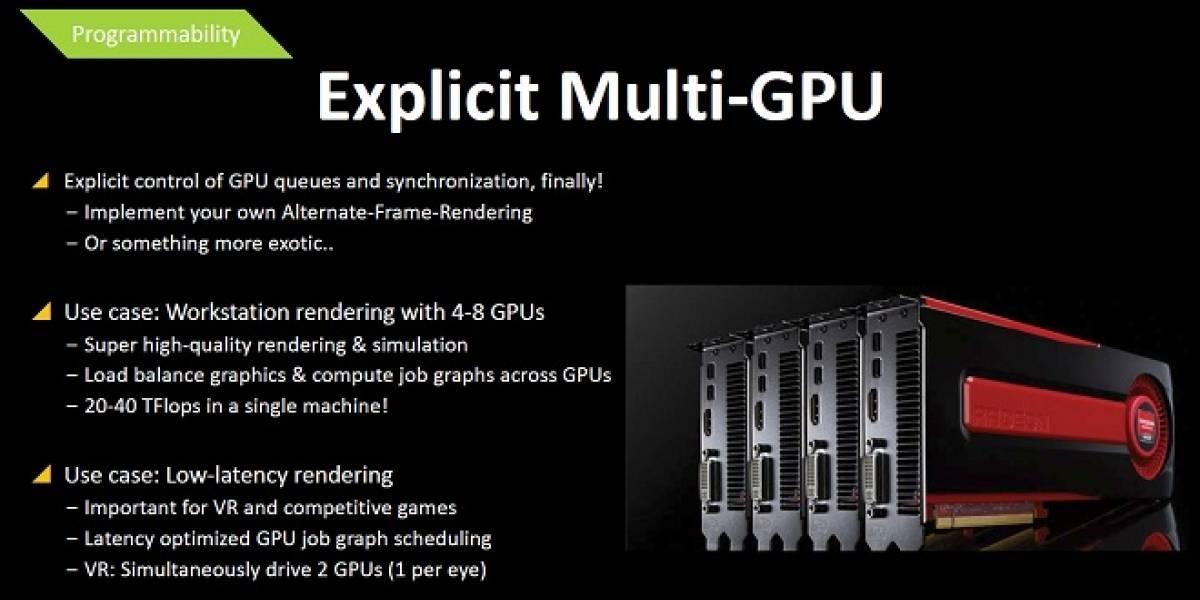 AMD: Mantle permitirá combinar la memoria gráfica en configuraciones CrossFireX
