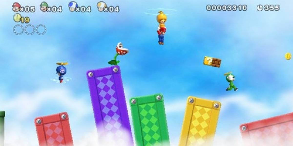 Nintendo muestra nuevos videos de New Super Mario Bros. Wii