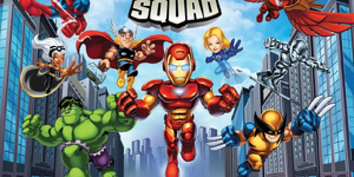 Marvel Super Hero Squad llega a los MMO