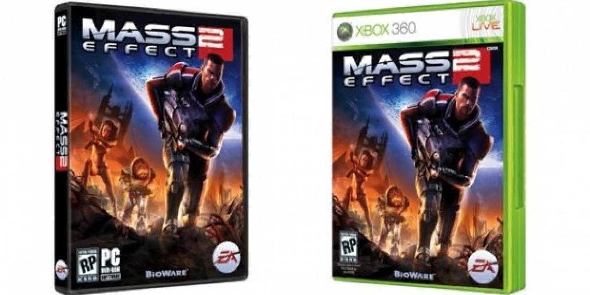 BioWare revela la portada para Mass Effect 2