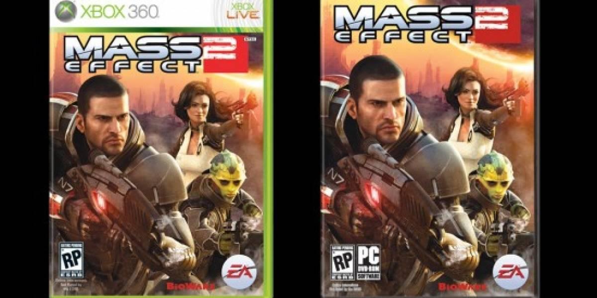 BioWare cambia de último minuto la portada para Mass Effect 2
