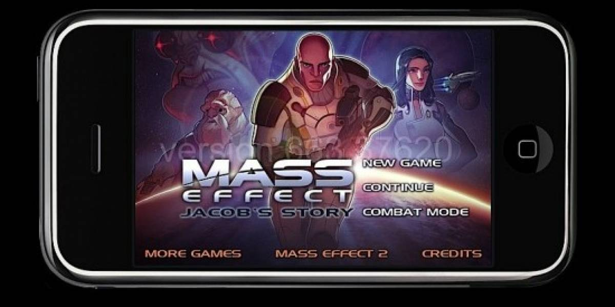 Mass Effect tendrá su versión para iPhone