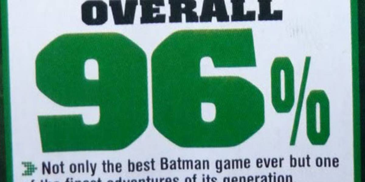Primer análisis de Batman Arkham Asylum (según requisitos de Eidos)