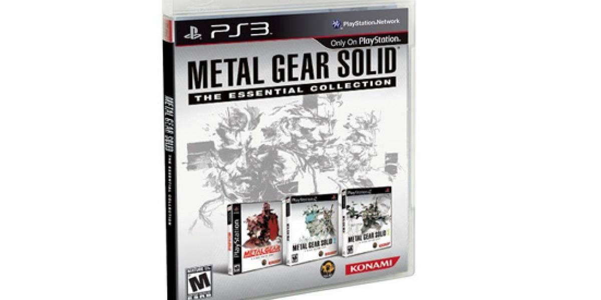 Futurología: Colección de los tres primeros Metal Gear Solid pronto en PS3