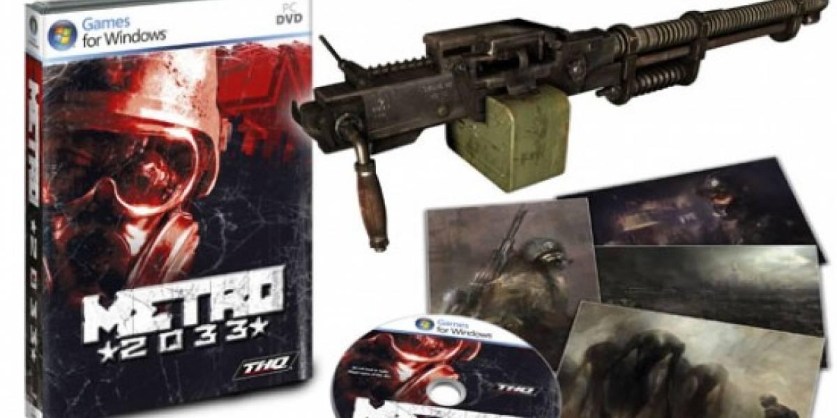THQ ofrecerá edición limitada de Metro 2033 para Europa