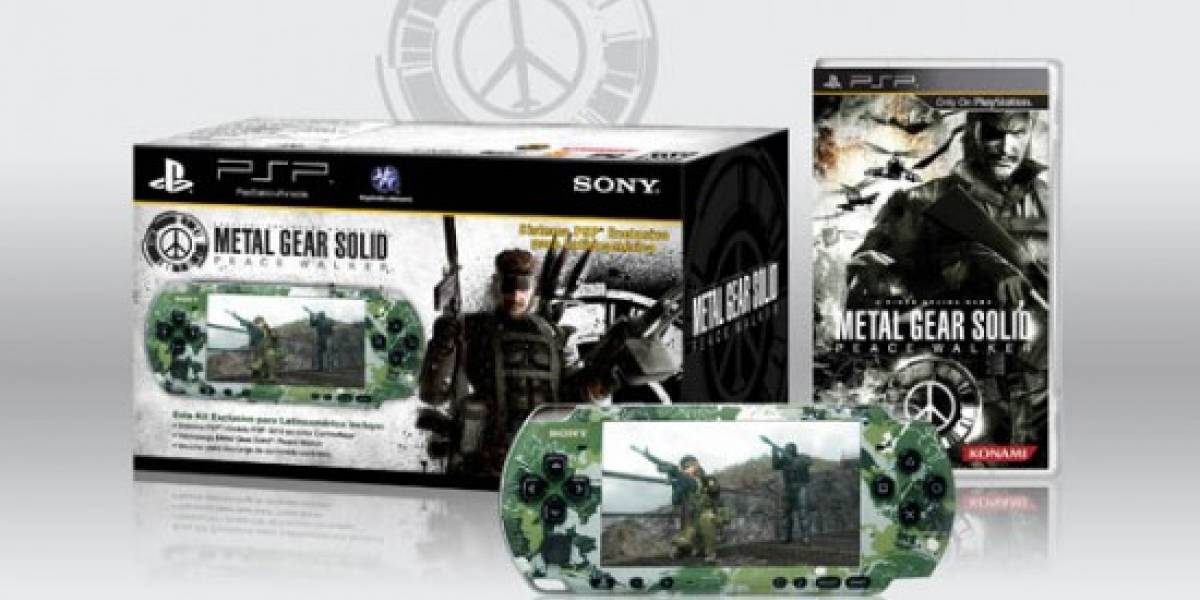 Sony lanzará bundle exclusivo de MGS: Peace Walker para Latinoamérica