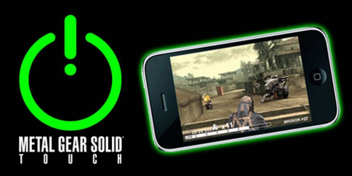 Metal Gear Solid Touch está disponible en la App Store
