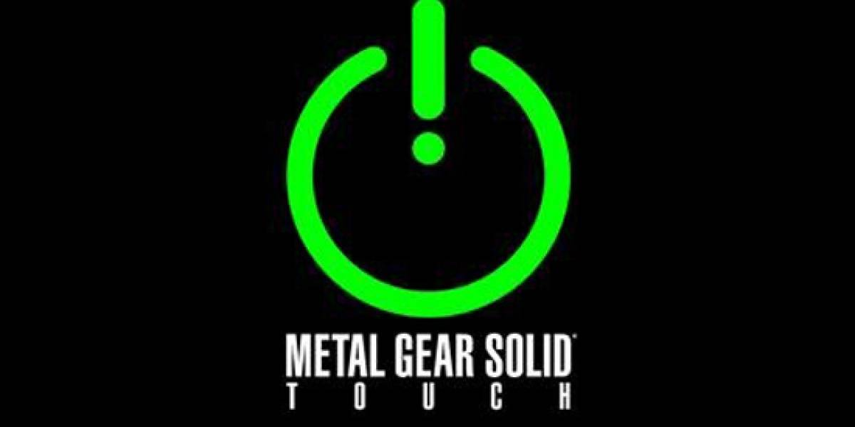 [NB Labs] Metal Gear Solid Touch