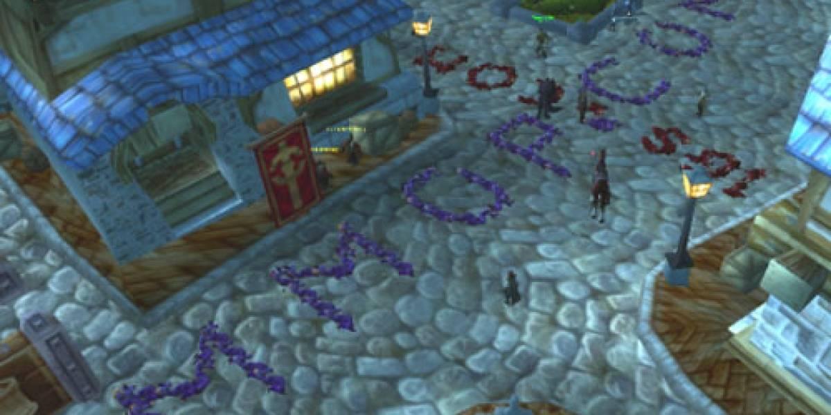 Spam con cadáveres en World of Warcraft