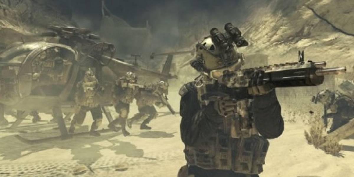 Modern Warfare 2 fue el juego más vendido de 2009 (según Chart-Track)