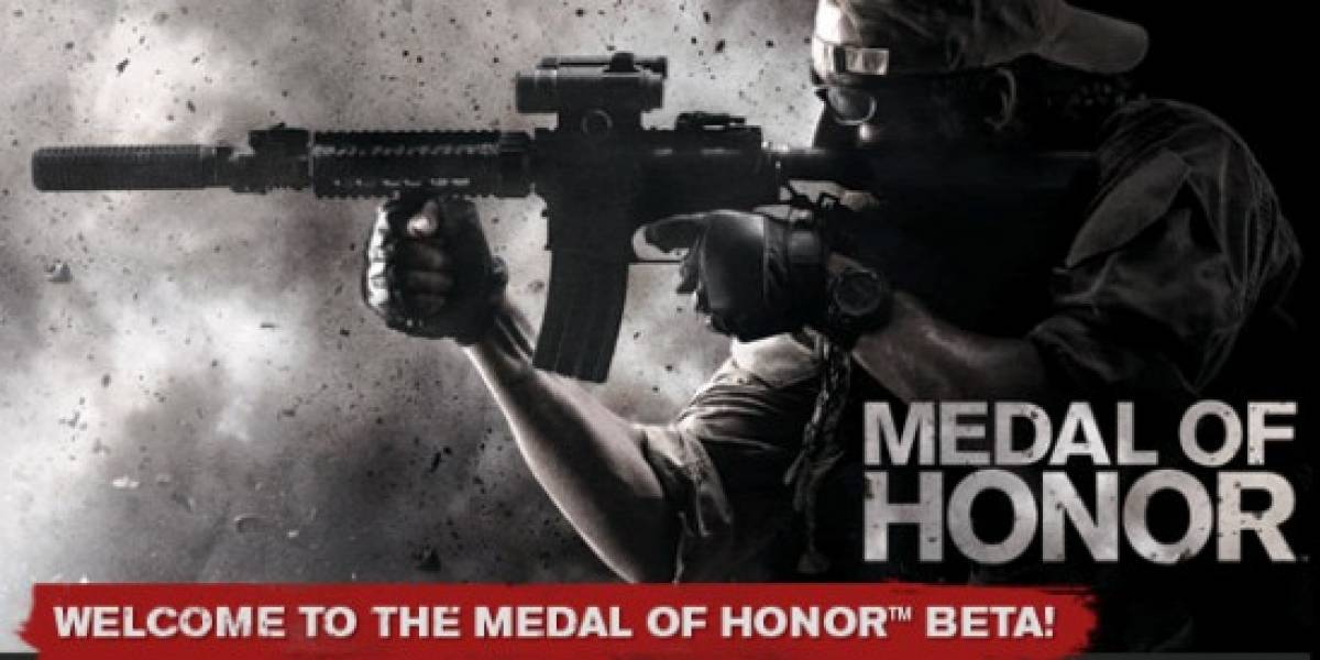 Ganadores de códigos para la beta de Medal of Honor