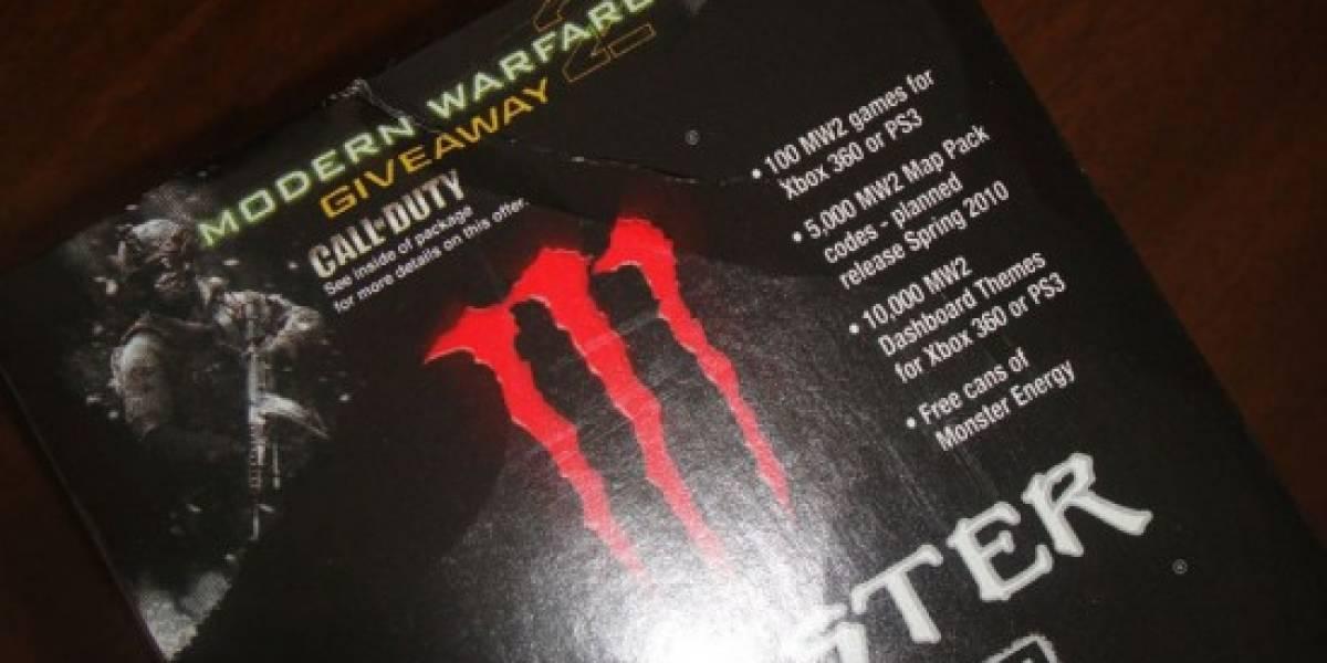 Bebida energética de Modern Warfare 2