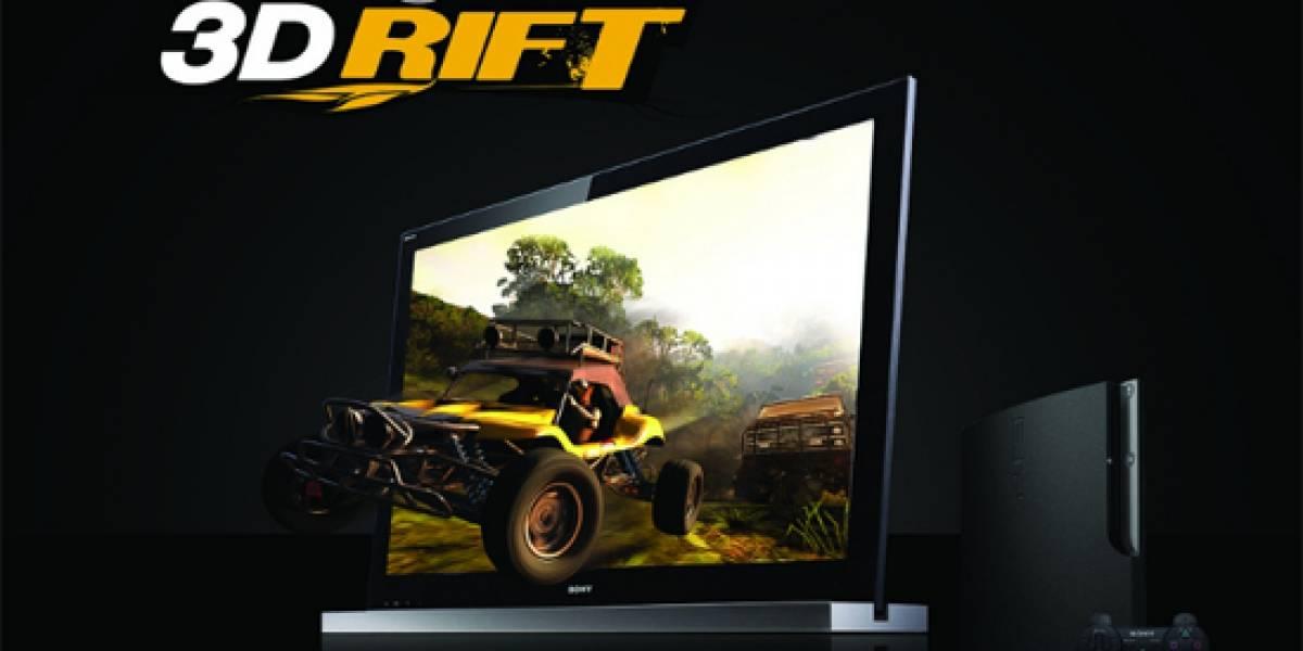 Sony anuncia el paquete DLC MotorStorm 3D Rift