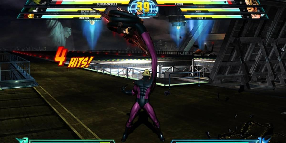 Ninguno de los 4 Fantásticos dirá presente en Marvel vs. Capcom 3 [Comic-Con 10]