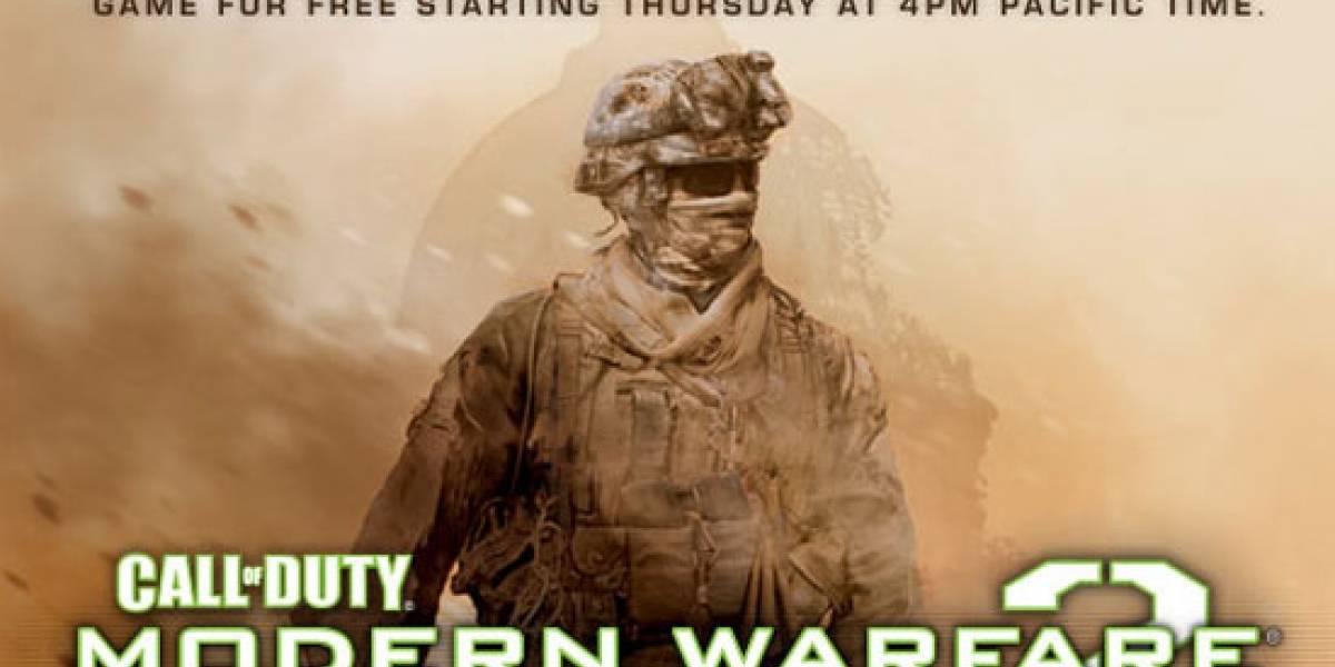 Fin de semana de Modern Warfare 2 gratis en Steam