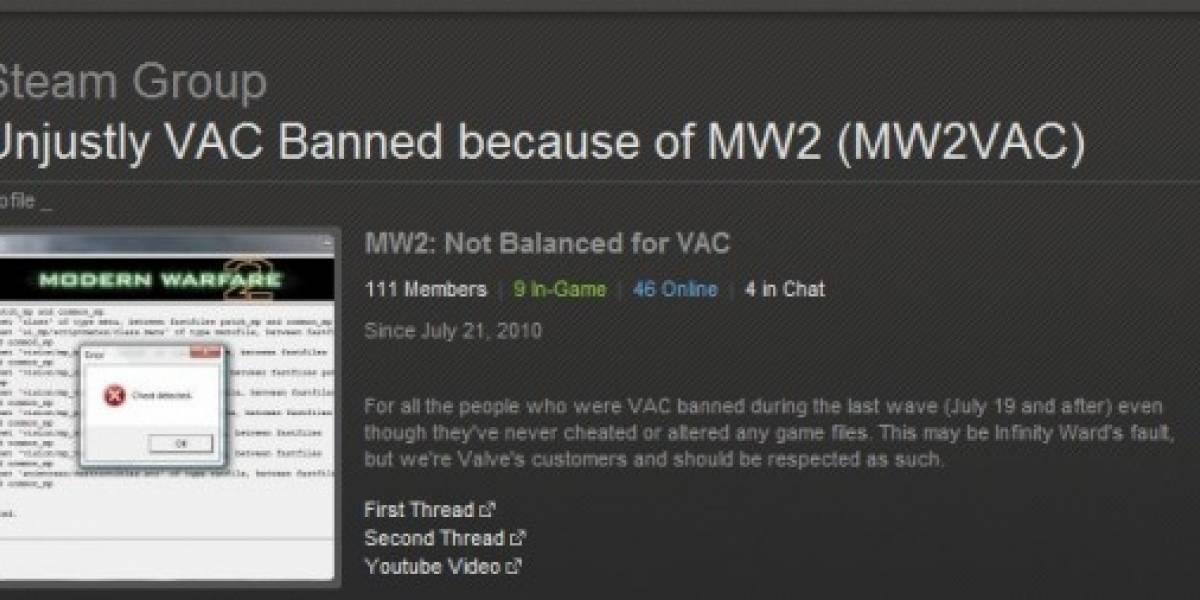 Valve podría estar baneando jugadores inocentes en Modern Warfare 2 [Actualizado]