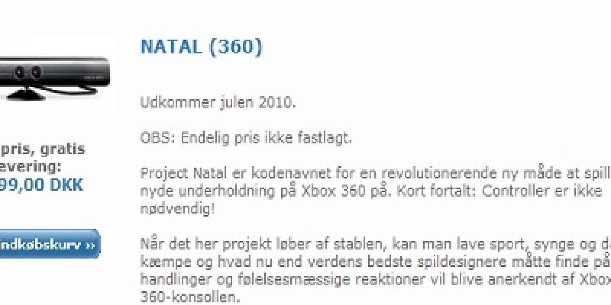 Futurología: Sitio danés filtra precio de Natal [Actualizado]