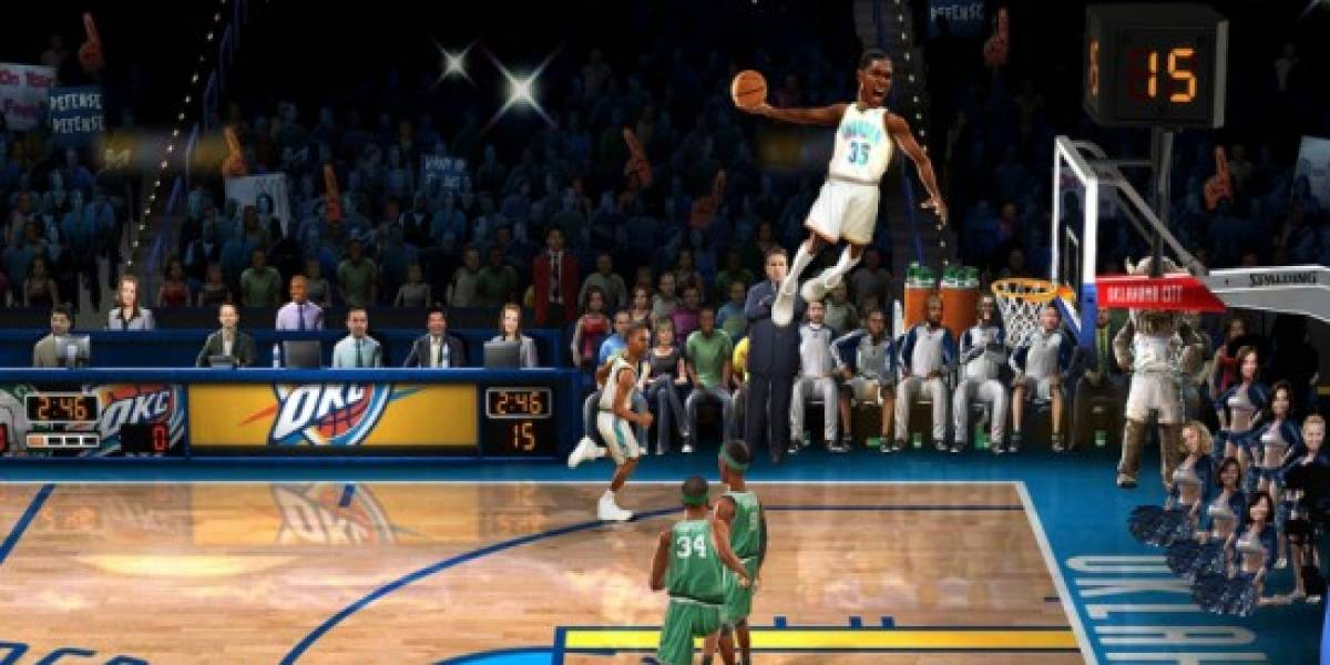 NBA Jam vendrá incluido en NBA Elite 11 para PS3 y 360
