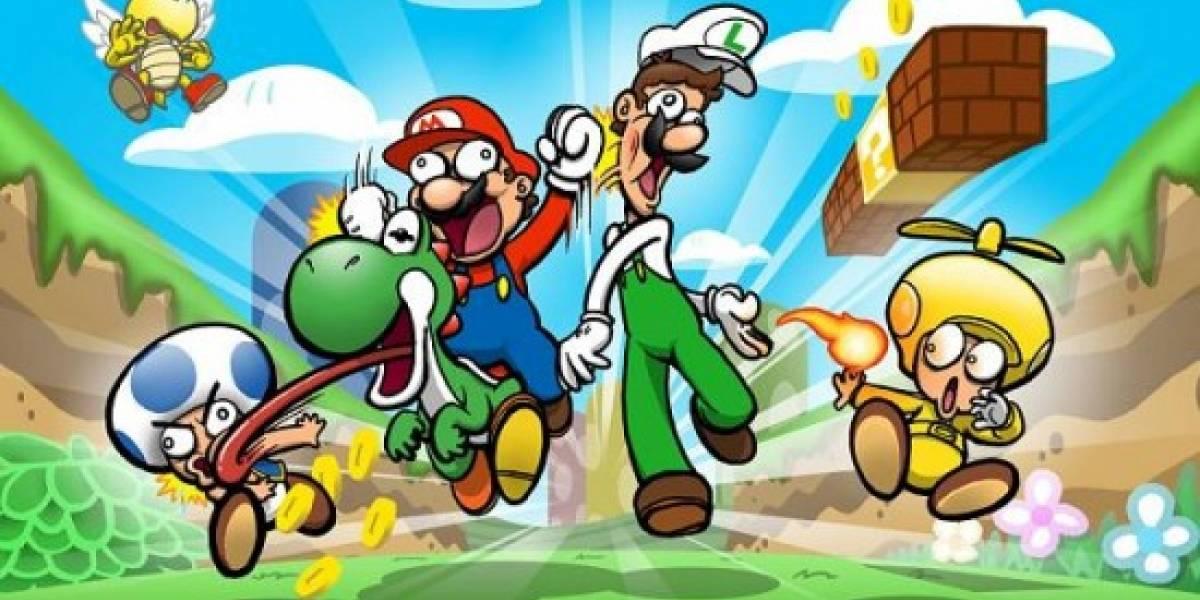 New Super Mario Bros Wii supera las 10 millones de unidades vendidas