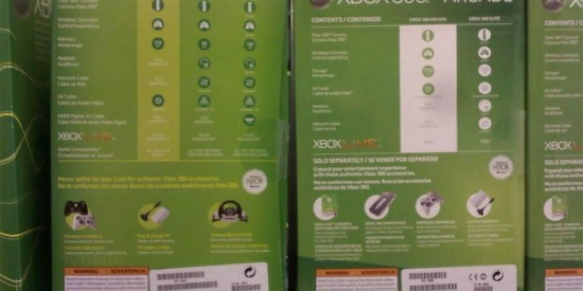 Futurología: XBOX 360 Pro en agonía, sólo quedarán Arcade y Elite