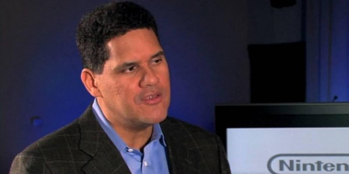 Reggie mata el rumor de Wii HD. Seguramente lo presentan mañana (LOL)