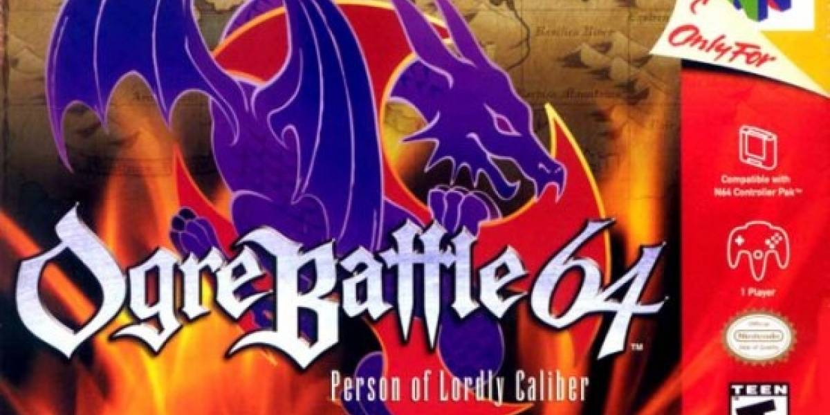 Ogre Battle 64 disponible en la Consola Virtual