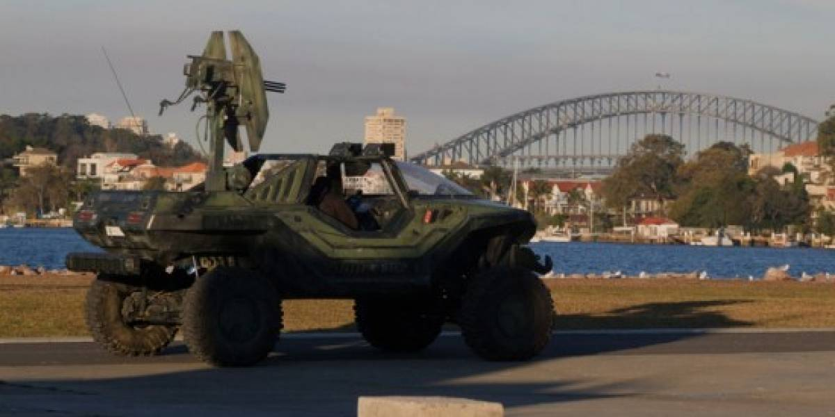 Nave con las primeras tropas ODST cae en Australia