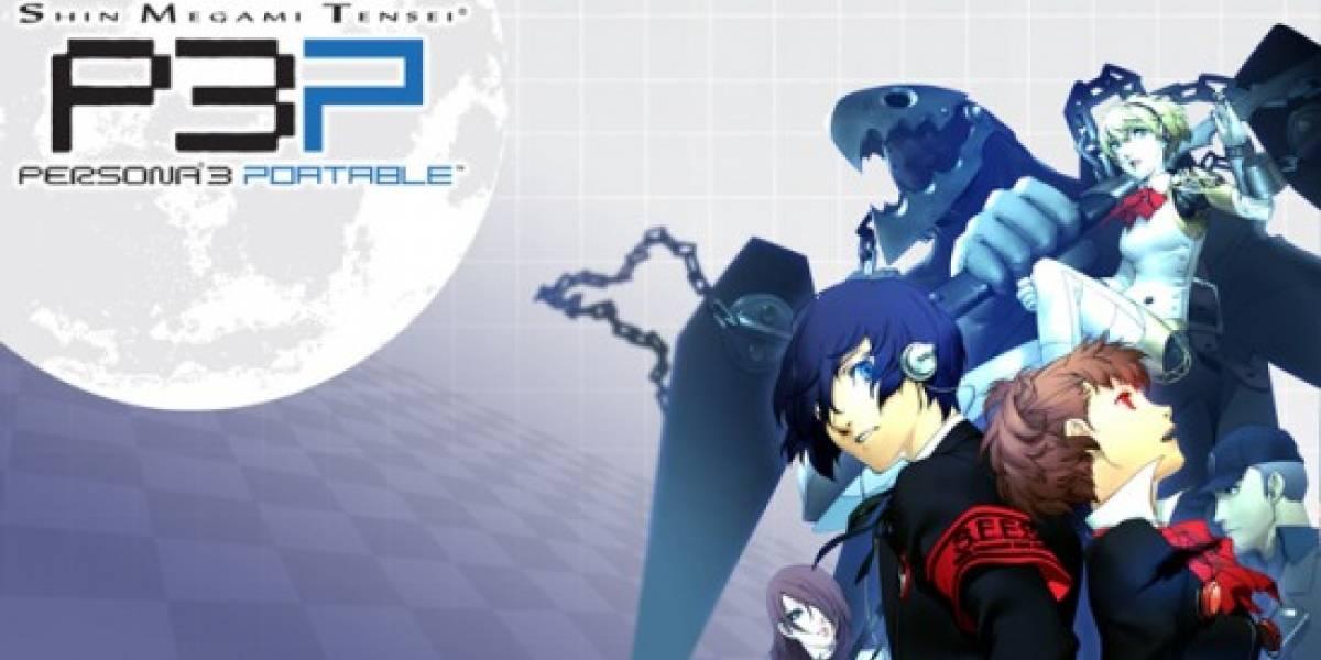 Nuevo trailer de Persona 3 Portable