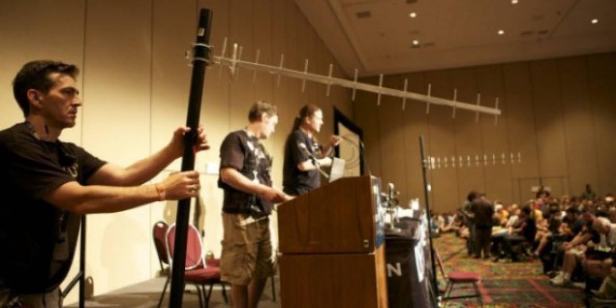 Hacker construye antena para interceptar llamadas con US$1.500