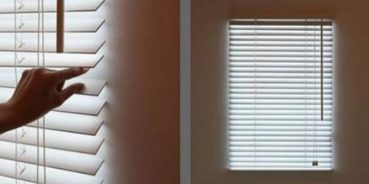 Bright Blinds: Ventana falsa para ambientes cerrados