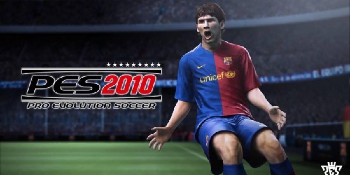 Pro Evolution Soccer 2010, el mejor juego de deportes del EGS 2009