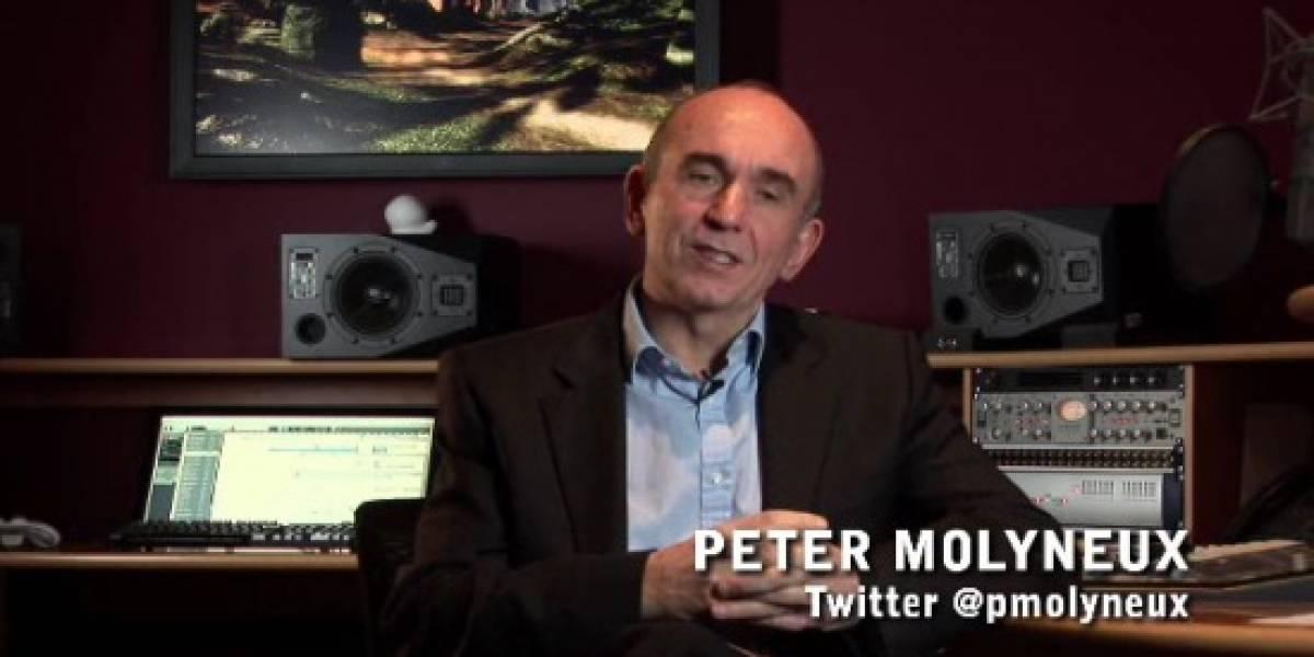 Peter Molyneux platica los elementos de acción de Fable III