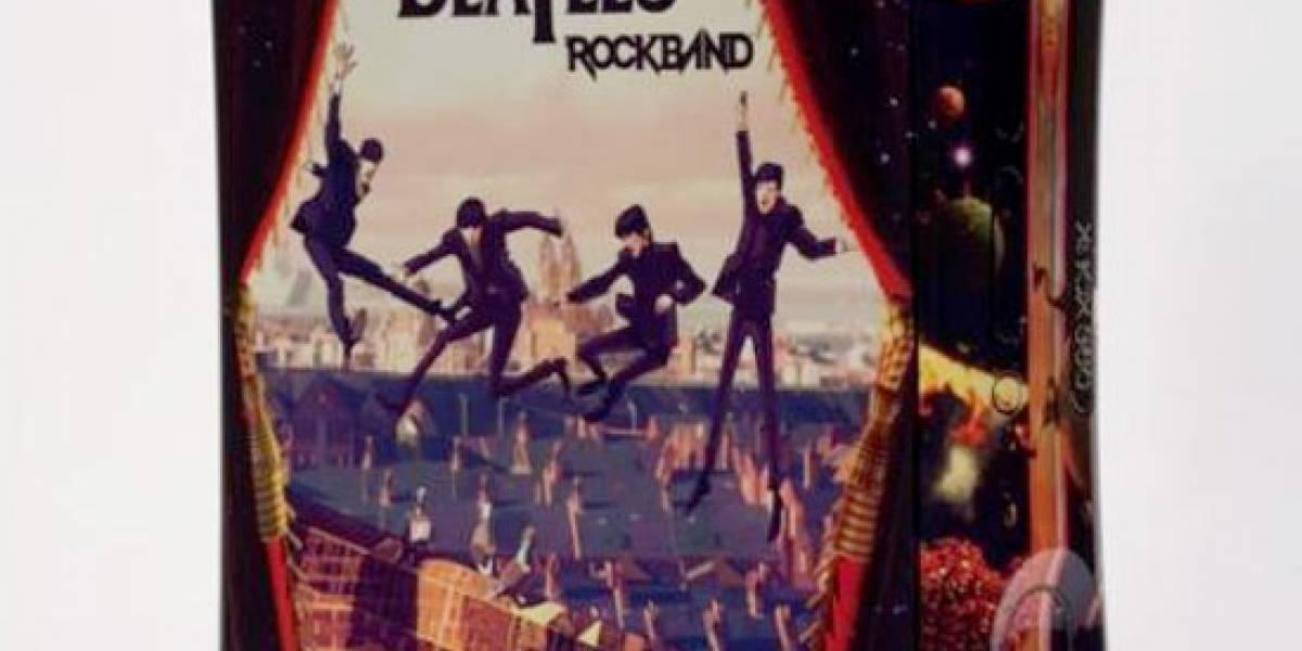 Xbox 360 edición The Beatles Rock Band en subasta