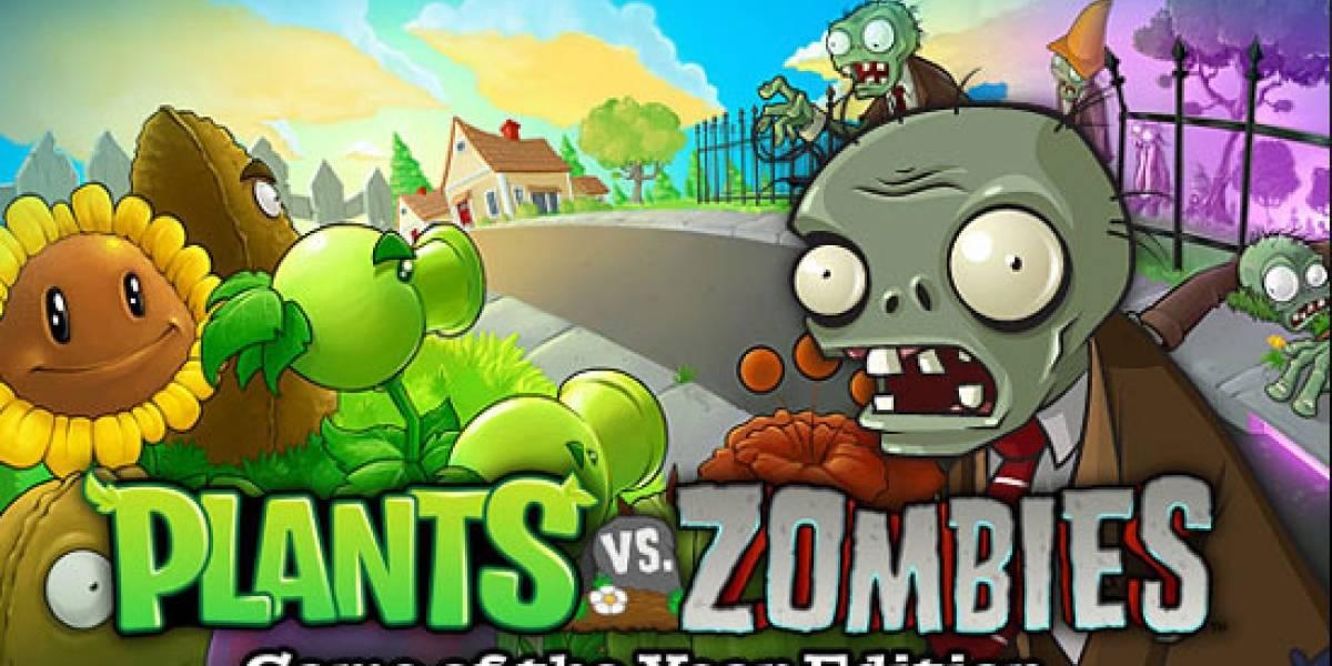 Plants vs Zombies ya tiene su edición de Juego del Año