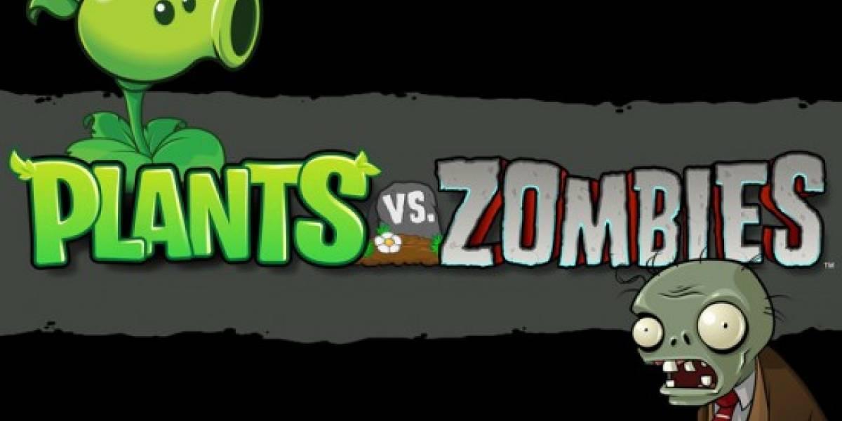 Plants vs. Zombies también llegará a la Nintendo DS