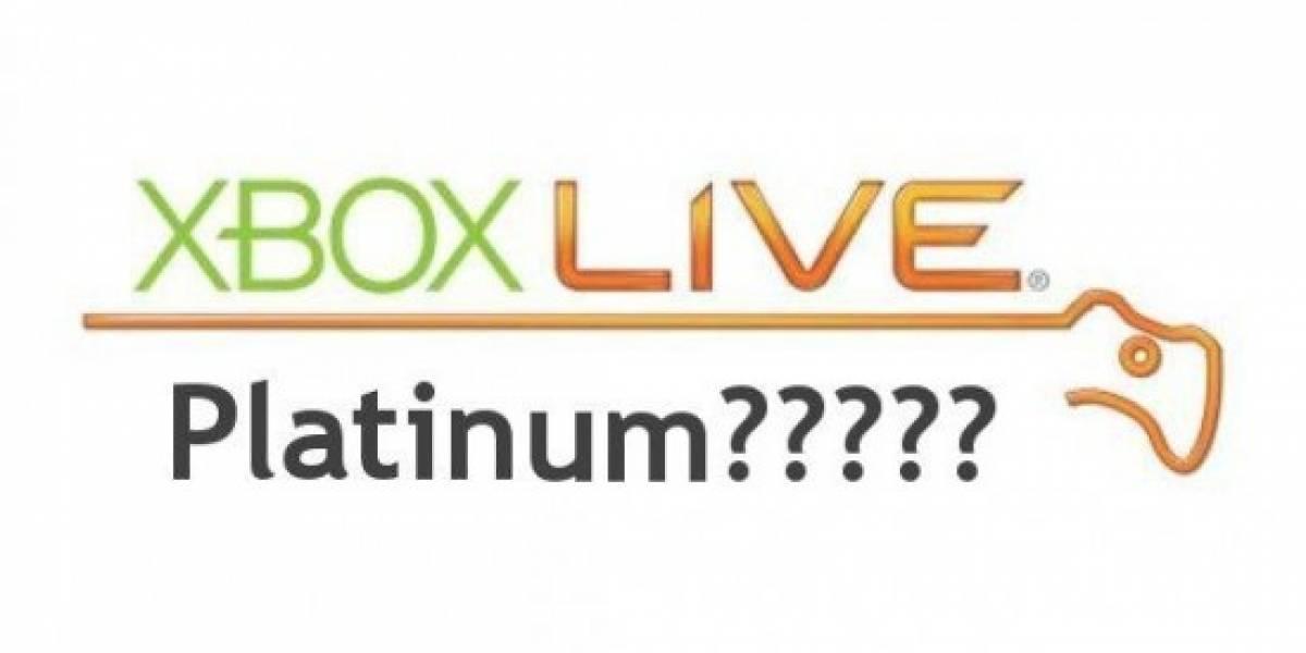 Analista predice Xbox Live Platinum