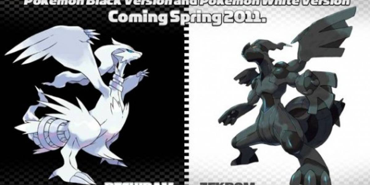 Nintendo anuncia fecha de lanzamiento de Pokémon Black and White