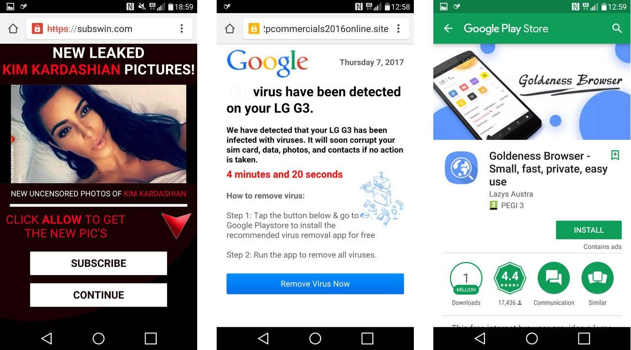 El Porno Aparece En Aplicaciones Android Para Ninos