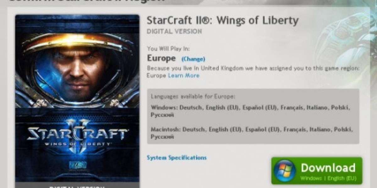 Ya se puede descargar el cliente de StarCraft II