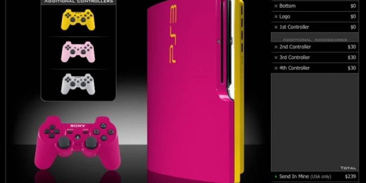 Cambia de color a tu PS3... por otro más feo