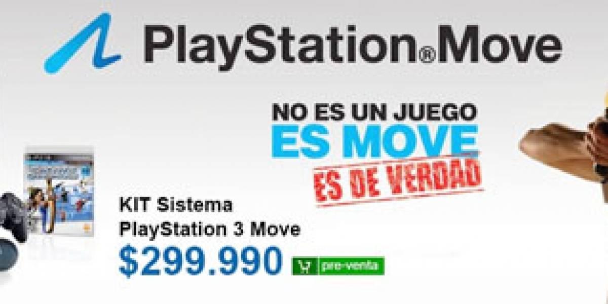 Ya se puede pre-ordenar el PlayStation Move en Chile
