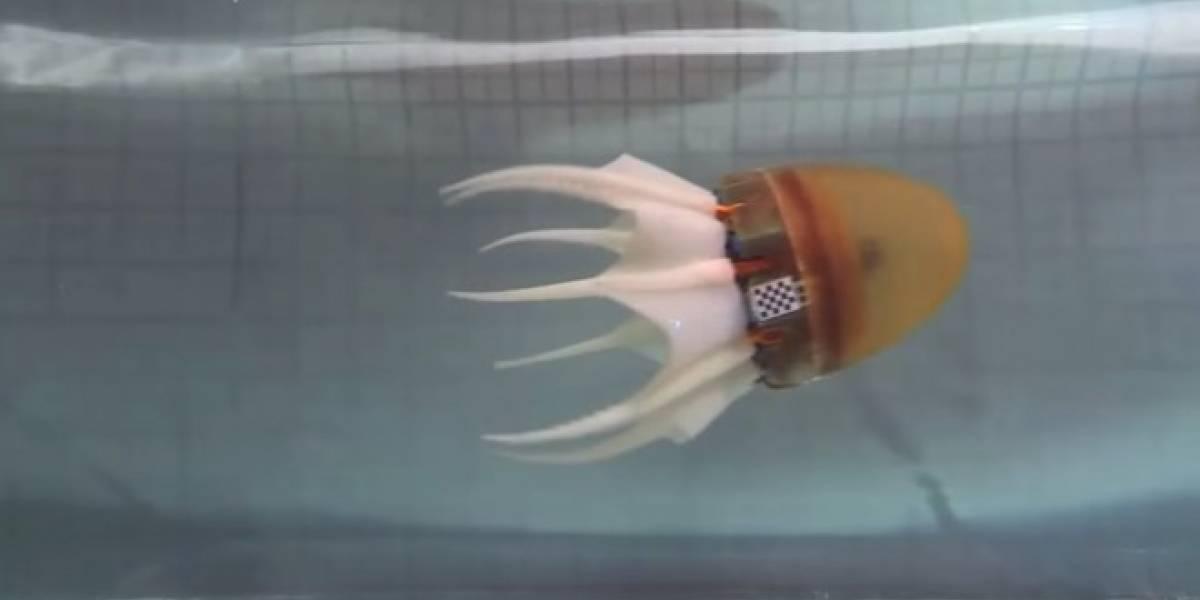 Científicos griegos crean pulpo robótico
