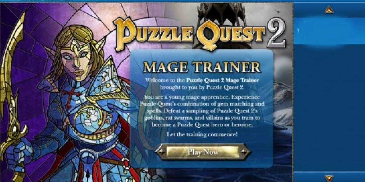 Juega Puzzle Quest 2 en Facebook